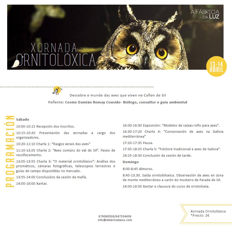 (Español) Jornada de Ornitología